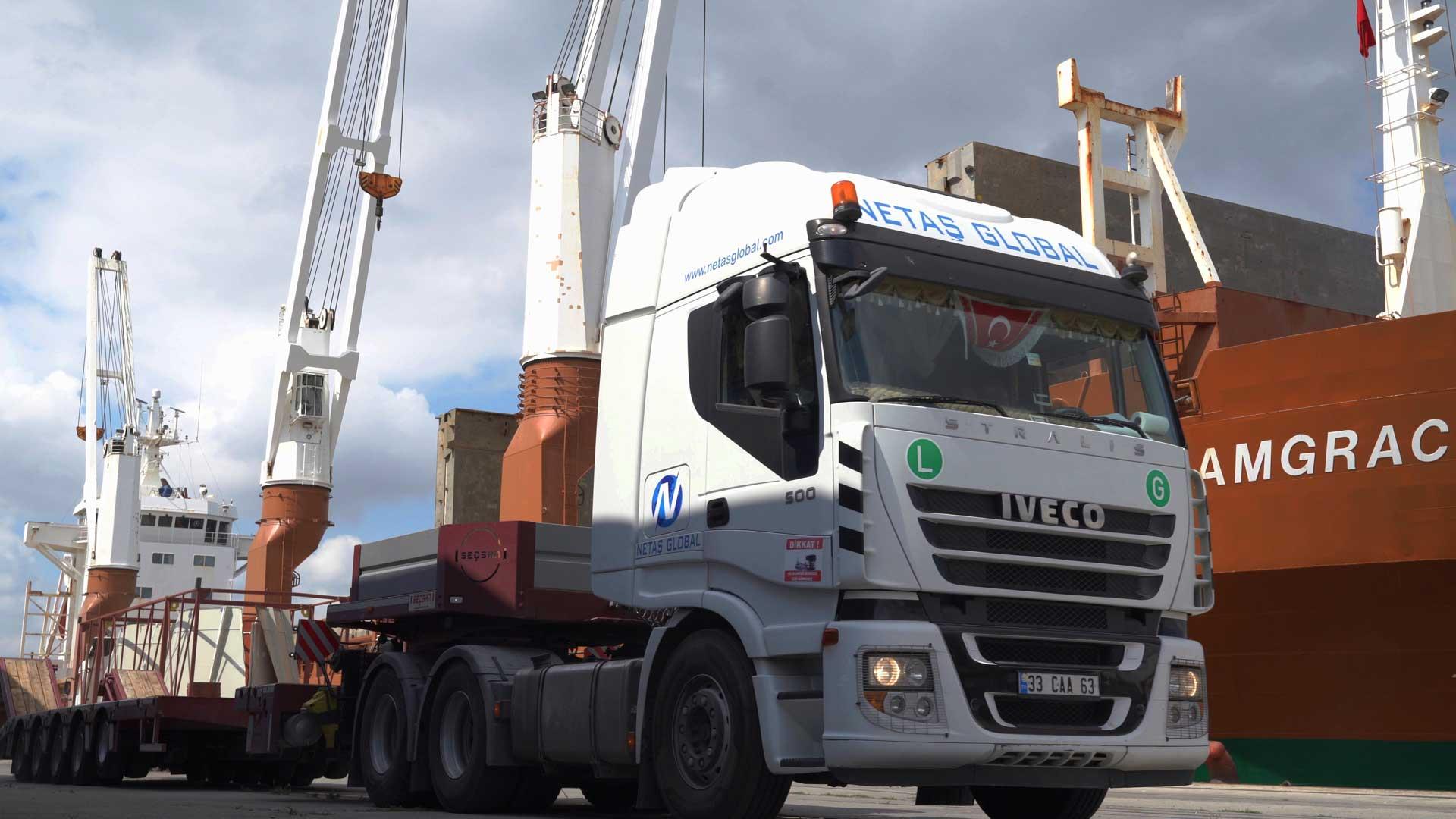 chain transport netaş global